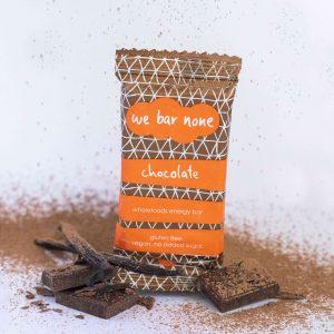 Chocolate, healthy chocolate bar, We Bar None, wholefoods energy bar, nutritional information, nutrition info, healthy snacks, made in Ballarat, Australia, gluten free snacks Australia, gluten free snacks Melbourne, eat local Ballarat