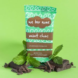 We Bar None Mint Chocolate Wholefoods Energy Bar