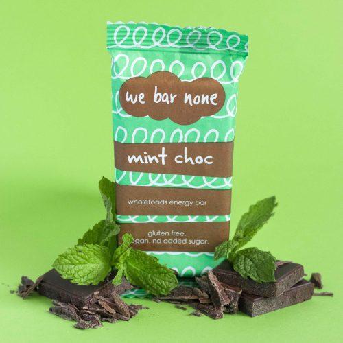 We Bar None Mint Chocolate Wholefoods Energy Bar
