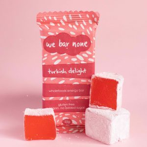We Bar None Turkish Delight Wholefoods Energy Bar